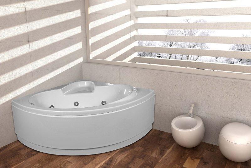 Vasche Da Bagno Idromassaggio : Vasca da bagno rettangolare in acrilico con idromassaggio montego