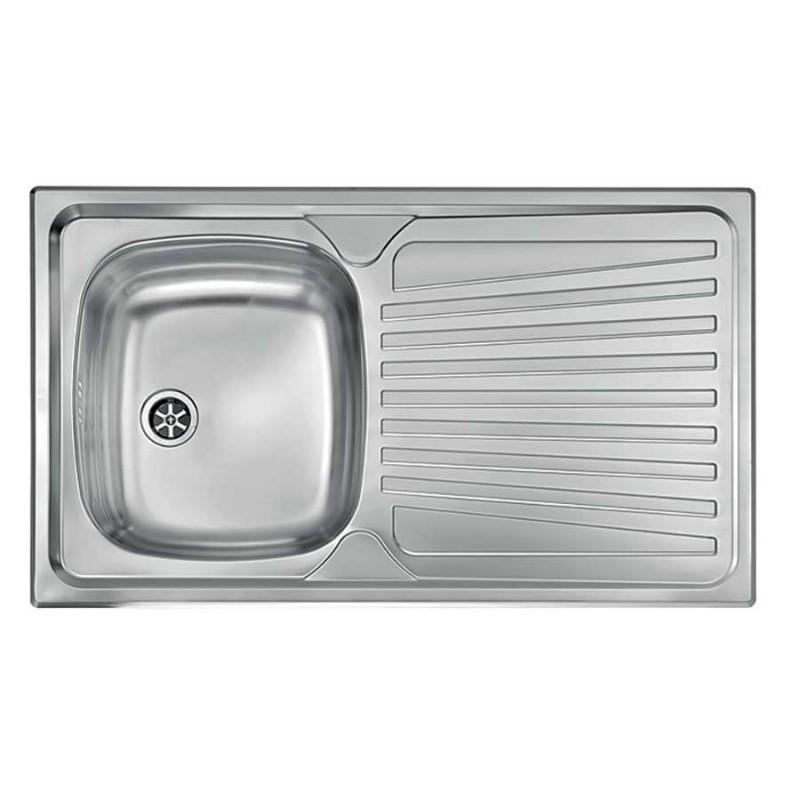 Lavello incasso inox una vasca - Lavello cucina incasso ...