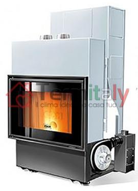 Vendita termocamini a pellet online termitaly for Termocamino a pellet idro
