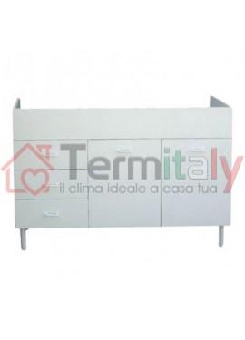 Sottolavello M10 c/cassetti per lavello inox