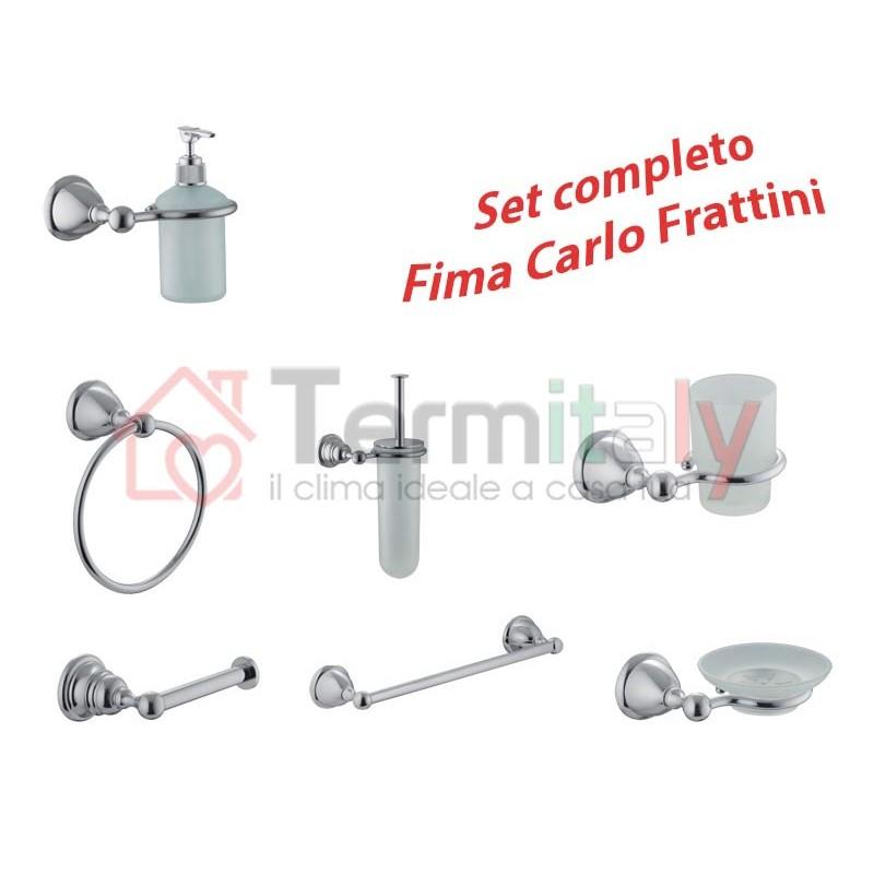 Set Completo Accessori Bagno.Vendita Set Completo Accessori Da Bagno Fima Serie Style Online
