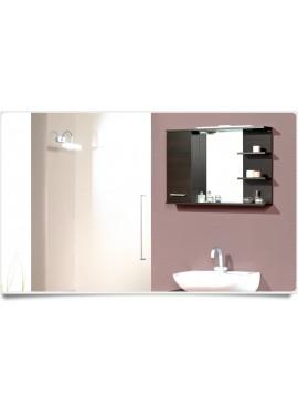 Specchio 1 anta Messina wengè