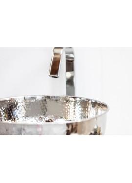 Lavabo d'appoggio in metallo Cipì NEW SHINE