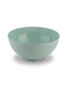 Lavabo d'appoggio in alluminio smaltato Cipì THE CUP verde acqua