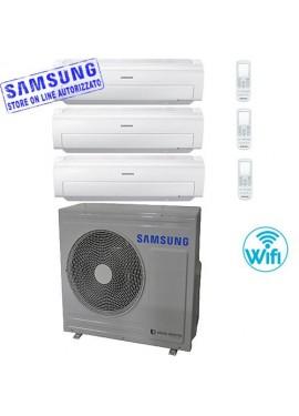 climatizzatore samsung AR5500M trial split 7000+7000+7000 btu