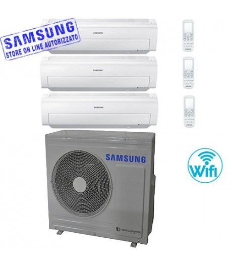 climatizzatore samsung AR5500M trial split 7000+7000+9000 btu