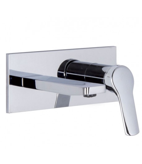 miscelatore lavabo a parete Fima serie 4
