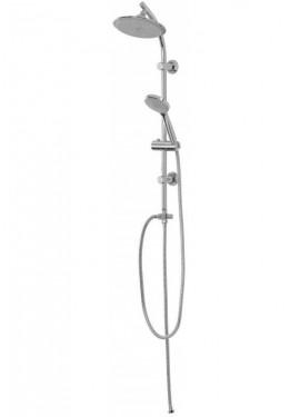 Colonna doccia Feridras Linea Plus in acciaio cromato