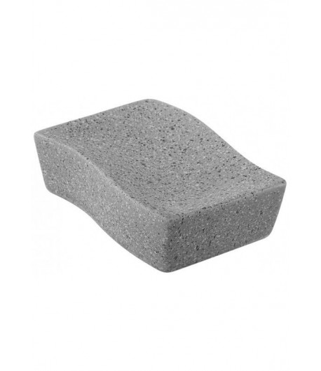 Portasapone Feridras Linea Big Stone Grigio