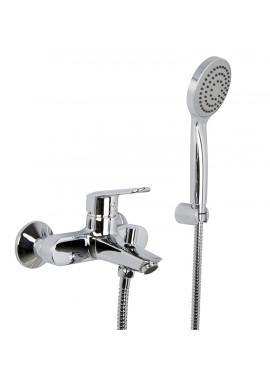 Miscelatore vasca esterno con set doccia Fima serie Spot