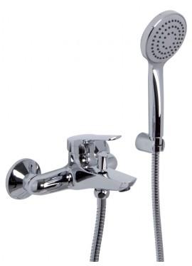Miscelatore vasca esterno con set doccia Fima serie 4