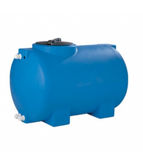 Serbatoio cisterna in polietilene cilindrico orizzontale