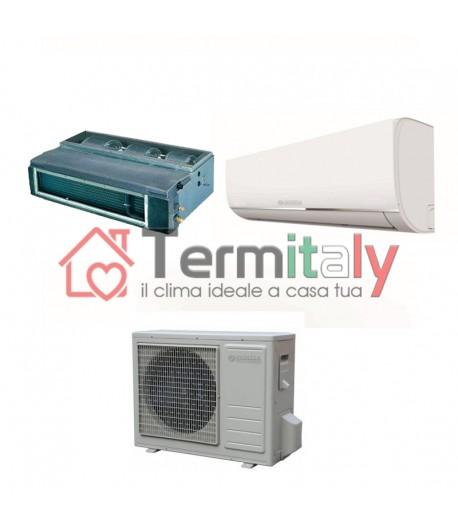 Climatizzatore dual split Nexya S4 inverter Wall+Duct 9+9 U.E. 18
