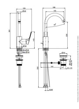 miscelatore lavabo fima serie 4 F3781W