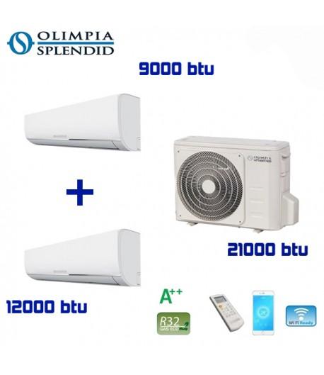 Climatizzatore dual split Nexya S4 inverter 9+9