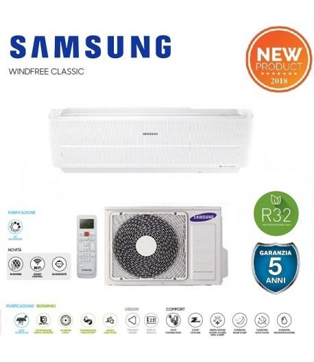 Climatizzatore Samsung serie Windfree Classic 12000 btu