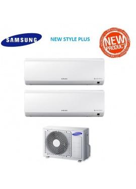 climatizzatore samsung new style plus trial split 7000+7000+7000 btu