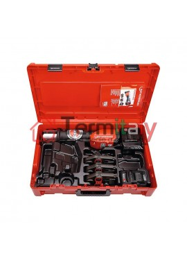 ROTHENBERGER Pressatrice a batteria ROMAX 4000, Set TH 16-20-26 mm