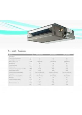 Climatizzatore Hisense Dual Split 9+9 Canalizzabile Inverter